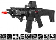 A&K Full Metal Magpul Masada ACR RIS CQB  AEG Airsoft Gun (Licensed Trademarks/Black)
