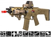 A&K Full Metal Magpul Masada ACR RIS CQB AEG Airsoft Gun (Licensed Trademarks/Coyote Tan)