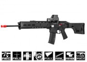 A&K Full Metal Magpul Masada ACR SPR Rifle AEG Airsoft Gun (Licensed Trademarks/Black)