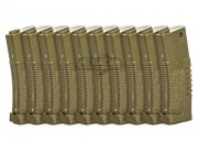 Amoeba Polymer 140rds Mid Capacity Magazine Box Set (10 Pack/Tan)
