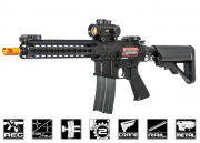Apex Full Metal R5 M10 Battlemod AEG Airsoft Gun (Black)