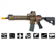 Apex Full Metal R5 M12 Carbine AEG Airsoft Gun (Bronze)