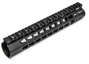 "APS Conception Series Evolution Tech 10"" KeyMod Hand Guard in Black (Black)"
