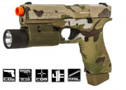 APS ACP Action Combat Pistol CO2 Airsoft Gun (Multicam)