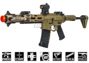 "Ares Amoeba AM013 M4 Carbine 13"" Modular Rail AEG Airsoft Gun (Flat Dark Earth)"