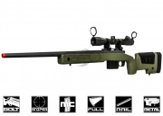 Ares MCM700X Spring Sniper Rifle Airsoft Gun (OD)