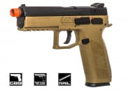 ASG CZ P-09 CO2 GBB Pistol Airsoft Gun (Threaded Barrel/Flat Dark Earth)