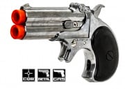 ASG Derringer Gas Pistol Airsoft Gun (6mm/Silver) by Maruzen