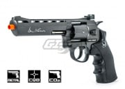 "ASG Dan Wesson 6"" CO2 Grey Revolver Airsoft Gun"