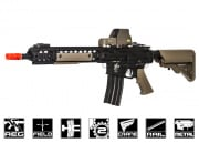 Knights Armament SR16 URX3.1 (B.R.S.S) Recoil Carbine AEG Airsoft Gun by Bolt (Black/Tan)