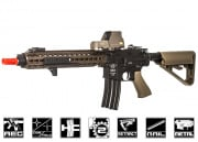 Bolt Full Metal M4 SOPMOD (B.R.S.S) Blow Back KeyMod AEG Airsoft Gun (Tan)