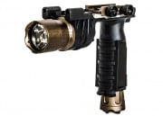 Bravo Flashlight Weapon Mount w/ Pressure Pads & Navigation LED Lights