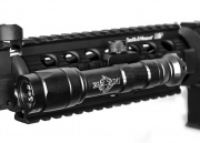 Bravo Airsoft Full Size Scout Tactical Flashlight (Black)