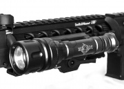 Bravo Airsoft Scout V Tactical Flashlight (Black)