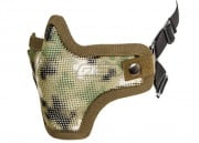 Bravo Strike Steel Half-Face Mesh Mask (AR02)