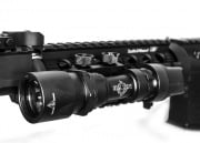 Bravo Airsoft Super Tactical LED Flashlight (Black)