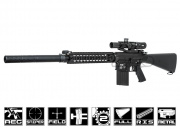 Classic Army Full Metal CA-25 AEG Sniper Rifle Airsoft Gun (XSV Series)
