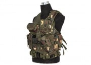 Lancer Tactical Crossdraw Vest (Woodland)
