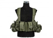 Lancer Tactical M4/M16 Operator Chest Rig (OD)