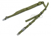 Lancer Tactical Padded 2 Point Sling (OD)