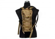 Lancer Tactical MOLLE Attachable Hydration Backpack (Tan)