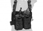 Lancer Tactical Bungee Leg Rig (Black)
