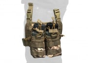 Lancer Tactical Bungee Magazine Pouch Leg Rig MOLLE (Modern Camo)