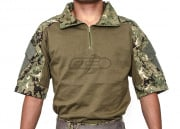 Lancer Tactical Gen 2 Combat Short Sleeve Shirt (Woodland Digital/XL)