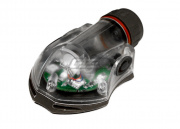 Lancer Tactical FMA Snail Helmet Mounted Distress Marker Strobe Light (Red/Light/Type 2)