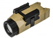Lancer Tactical LED Pistol Light (Tan/200 Lumens)