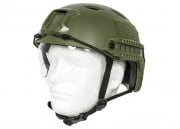 Lancer Tactical BJ Type Basic Version Helmet w/ Visor (OD Green/M)