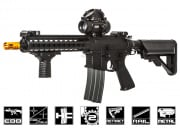 "Classic Army Full Metal Keymod ARS4 10"" Blowback AEG Airsoft Gun (Black)"