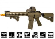 "Classic Army Full Metal Keymod ARS4 13"" Blowback AEG Airsoft Gun (Dark Earth)"