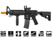 Classic Army M4 CQB RIS Carbine AEG Airsoft Rifle (Black)
