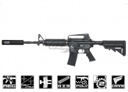 Classic Army M15A4 RIS Carbine AEG Airsoft Gun SEAL Combat Package (Sportline/FREE Mock Silencer)