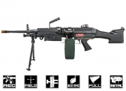 Classic Army Full Metal M249 MK2 AEG Airsoft Gun w/ Box Mag Package