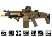 Classic Army Full Metal MK17-H AEG Airsoft Gun (Tan)