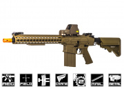 "Classic Army CA110 Full Metal Keymod ARS2 13"" AEG Airsoft Gun (Dark Earth)"