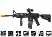 Classic Army Full Metal M4A1 RIS Carbine AEG Airsoft Gun (LiPo Battery & Charger Package)