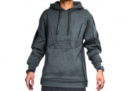 Cast Gear Tactical Pullover Hoodie (Grey/Medium)