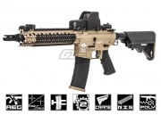Combat Machine MK18 MOD1 DST AEG Rifle Airsoft Gun (Tan Body/Black)