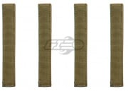 "Condor Outdoor 6"" MOD Straps (4 Pack/Tan)"