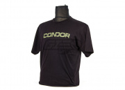 CONDOR GRAPHIC TEE-SHIELD T-Shirt ( BK / L )
