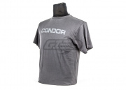 CONDOR GRAPHIC TEE-SHIELD T-Shirt ( GRAPHITE / M )