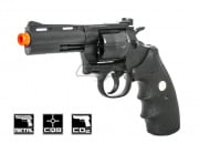 "Colt Python 4"" 357 CO2 Revolver Airsoft Gun Licensed by Cybergun"