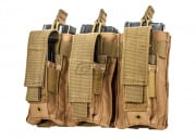Condor Outdoor Triple M4 Kangaroo Magazine Pouch (Tan)