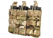 Condor Outdoor MOLLE Triple Open Top M4 Mag Pouch ( Multicam )
