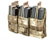 Condor Outdoor Triple Open Top Stacker M4/M16 Magazine Pouch (A-TACS)