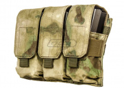 Condor Outdoor Triple M4 Magazine Pouch (A-TACS FG)