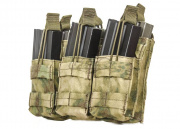 Condor Outdoor Triple Stacker M4 Magazine Pouch (A-TACS FG)